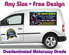 Pair Of Magnetic Signs Any Vehicle Or Size Full Colour Free Professional Design
