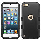 For iPod Touch 5th & 6th Gen - Hybrid Hard & Soft Rugged Armor Case Cover Skin