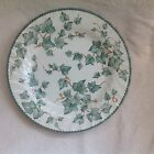 """BHS/BRITISH HOME STORES COUNTRY VINE 10.5"""" RIMMED DINNER PLATE VERY GOOD COND"""