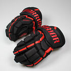 NEW Warrior Covert QRL3 Senior Ice Hockey Gloves Black/Red