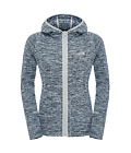 The North Face W Nikster Full Zip Hoodie Fleecejacke Damen Jacke