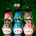 Totoro Sound LED Light Lamp Flashlight Torch Keyring Keychain Kids Gift Toy