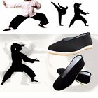 Mens Chinese Kung Fu Shoes Martial Art Ninja Cotton Sole Tai chi Slipper Slip On
