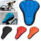 Cycling Bicycle Bike Seat Pad Saddle Cover Soft Cushion 3D Sponge Silicone Case