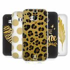 HEAD CASE DESIGNS GRAND AS GOLD SOFT GEL CASE FOR HTC ONE M8