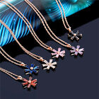 Pretty High Quality 18K Gold Plated Women Colorful Gorgeous Crystal Jewelry Sets