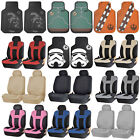 Official Licensed Star Wars Floor Mats & UAA Seat Covers Universal Car Truck New $64.95 USD on eBay