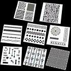 Various Layering Stencils Template Painting Scrapbooking Decor Embossing DIY