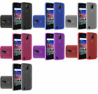 TPU Flexible Skin Gel Case Phone Cover for ZTE Citrine LTE Z716BL Z717VL Z717VC