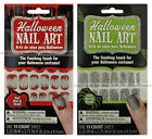 HALLOWEEN 19pc Nail Art Stickers FINISHING COSTUME TOUCH Peel+Stick *YOU CHOOSE*
