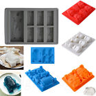 New Silicone Star Wars Ice Tray Mold Ice Cube Tray Chocolate Fondant MT $3.44 CAD