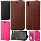 For LG X Power Premium Wallet Case Pouch Flap STAND Cover +Screen Protector