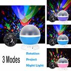 Rotating LED Sky Projector Starry Lamp Romantic Projector Stage Night Light Star