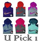 Nike Hoodie Jacket Athletic Big Swoosh Womens BTS Therma Fit Warm Sports Youth