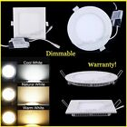 6W-21W Dimmable LED Recessed Ceiling Panel Down Light White Bulb Lamp Warranty!