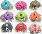 10/100 PCS 3 mm soft suede fabric DIY swan wool lobster clasp necklace