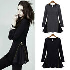 Women Fashion Popular Europe Style Long Sleeve Jumper T-shirt Bottoming Top