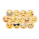 1 /5x Emoji Cartoon Expression Fridge Magnet Decor Whiteboard Note Message Holder