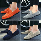 New Men's Casual Suede Tassel Slip Ons Driving Moccasins Loafers Shoes