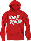 Factory Effex Licensed Honda Ride Red Pullover Hoodie Red Youth All Sizes