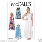 McCall's 7404 Sewing Pattern to MAKE Easy Misses' Dresses with Yokes, and Belt