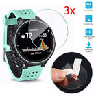 3PC 9H Tempered Glass Protector Screen For Garmin Forerunner 225/230/235/620/630