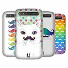 HEAD CASE DESIGNS RAINBOW MOUSTACHE HARD BACK CASE FOR BLACKBERRY PHONES