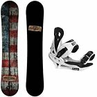 Camp Seven 2017 Drifter Snowboard with Summit Bindings Men's Snowboard Package