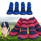 Dog Pet Boots Waterproof Repellent Paws Warm Weather Protective Booties Shoes US