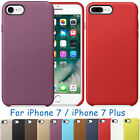 Ultra-thin PU Leather Shockproof Cover Slim Back Case For Apple iPhone 7/7 Plus