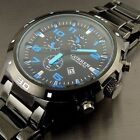 CURREN Men Stainless Steel Military Waterproof Date Analog Quartz Wrist Watches image