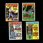 1961 TOPPS CRAZY CARDS LOT OF 4 W/ CARD #1 *50084