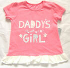 Cute Daddy's Girl Short Sleeve Top 18 - 24 Mths New