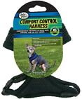 Four Paws COMFORT CONTOL DOG HARNESS X Small Black, Pink, Red or Blue