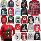 Ladies Unisex Mens Novelty Winter 70'S Vintage Retro Christmas Jumpers Xmas Tops