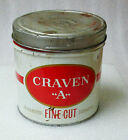 VINTAGE CRAVAN  A  FINE CUT CIGARETTE TOBACCO TIN! OK GRAPHICS CANADA  BILINGUAL