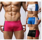 4Pcs New Comfortable Sexy Men Boxer Briefs Sports Underwear Swimwear Sz S~L#FY07
