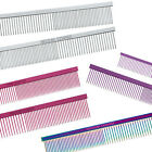 Choose Style & Color - Greyhound Combs - Dog Puppy Grooming Comb - 5 Colors