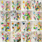 10pcs Funny Wooden Paper Clips Stationery School Kids Birthday Gift Party Favor