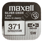 371 SR920SW SR69  Silver Oxide Watch Battery 1.55v [Select the Brand Wanted]