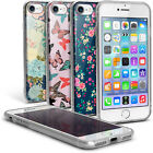 "Floral & Butterfly Pattern TPU Gel Case for Apple iPhone 7 4.7"" Soft Skin Cover"