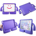 Kids Hand Grip Rubber Impact Shockproof Heavy Duty Stand Case Cover for iPad