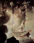 Classic Art Print of Mythology: Odysseus in front of Scylla by Henry Fuseli