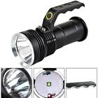 5000LM Handheld CREE T6 LED Flashlight Searchlight Lamp Torch+2X 18650+Charger