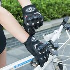 Bicycle Motorcycle Street Gear Motorbike Powersports Racing Gloves Black M L XL
