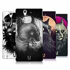 HEAD CASE DESIGNS CATS OF GOTH HARD BACK CASE FOR SONY PHONES 3