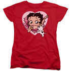 Betty Boop 30's Cartoon Betty And Pudgy Women's T-Shirt Tee $31.71 CAD