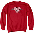 Betty Boop Heart Pose Classic Retro Cartoon Adult Crewneck Sweatshirt $33.95 USD