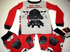 New Star Wars Toddler pajamas 2t 3t 4t 5t long sleeve pajamas Darth Vader