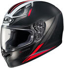 HJC FG-17 Valve Motorcycle Helmet Matte Black Red